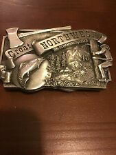 Great Northwest 1981 Commemorative Belt Buckle Limited Edition Numbered