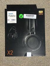 Philips X2 Fidelio Premium Headphones High fidelity sound Black Philips X2/27