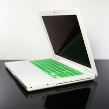GREEN  Silicone Keyboard Skin Cover for OLD Macbook 13""