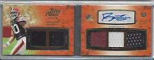 GREG LITTLE 2011 TOPPS PRIME LEVEL II (2) 5 PATCH AUTO BOOKLET BOOK RC #D 5/15