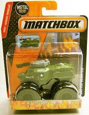 BATTLE BLASTER MILITARY TRUCK MONSTER TRUCK MBX HEROIC RESCUE MATCHBOX 2015 RARE