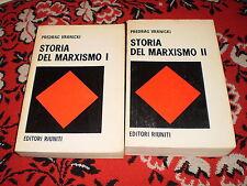 p. vranicki storia del marxismo 1972 editori riuniti