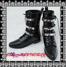 1/3 BJD shoes Boots Supper dollfie SD13/17 Black #DB22-1