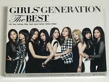 SNSD GIRLS' GENERATION THE BEST Japan First Limited Edition CD+DVD
