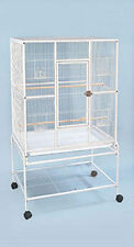 """Large New Bird Parrot Cage Cockatiel Conure 32""""x19""""x64"""" Wrought Iron Flight 470"""