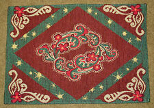Christmas on the Range ~ Western Holiday Motif Tapestry Placemat