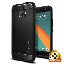 Spigen® HTC 10 [Rugged Armor] Shockproof TPU Cover Ultra Slim Protective Case
