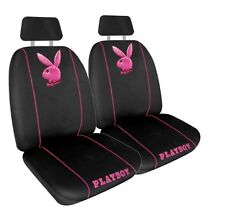 GENUINE PINK PLAYBOY METALLIC  FRONT SEAT COVER AIR BAG COMPATIBLE PAIR LAST ONE