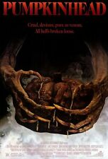 """PUMPKIN HEAD Movie Poster [Licensed-NEW-USA] 27x40"""" Theater Size Horror Classic"""