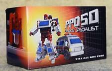 Transformers iGear PP05D Defence Specialist Action Figure USA SELLER