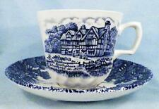Shakespeares Country Cup Saucer Royal Essex Ironstone Birthplace Trinity Church