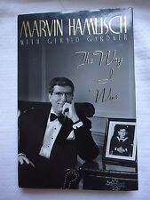 The Way I Was by Marvin Hamlisch (1992, Hardcover) 1st/1st Author Signed Book