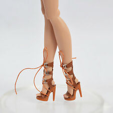 Doll Brown Shoes for Fashion Royalty Tropicalia Infusion Jem Holograms Monster
