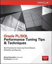 FAST SHIP - ROSENBLUM DORSEY 1e Oracle PL/SQL Performance Tuning Tips & Tech CD9