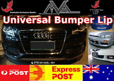AUDI VW RHINO LIP FRONT SPOILER SPLITTER VALANCE BODY KIT TRIM B5 B6 B7 B8 C6