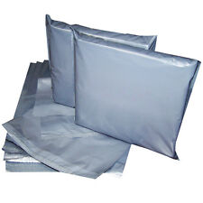 100 x 10x14 strong grey mailing postal poly sacs de self seal cheap spécial
