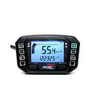 ACEWELL 3962 UNIVERSAL MOTORCYCLE SPEEDOMETER GAUGE COMPUTER KM/H OR MPH