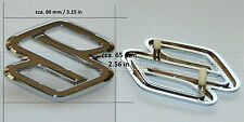 Suzuki Baleno Vitara Sidekick Swift Wagon R grille badge emblem logo chrome