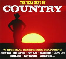Very Best Of Country 3-CD NEW SEALED Johnny Cash/Glen Campbell/Jimmy Dean+