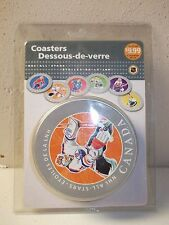 "2005 Canada Post NHL All Stars 6 Collector Coasters ""NEW"""