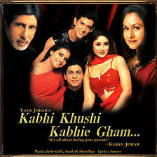 Kabhi Khushi Kabhie Gham (Jatin Lalit) (CD) (New) (2001) (Made in India)
