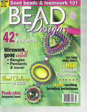 BEAD DESIGN STUDIO,  FEBRUARY, 2014  ( 42 + PROJECTS * WIREWORK GONE WILD )