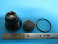 RARE MICROSCOPE OBJECTIVE LENS CARL ZEISS JENA GERMANY PLANAR 4.5X 3.5 cm OPTICS