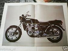 A039-POSTER KAWASAKI Z1300 SIX-CYLINDER MOTORCYCLE 1978-1979 MOTORRAD