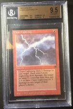 Chain Lightning BGS 9.5 - Legends - MTG - Vintage - Legacy - MTG