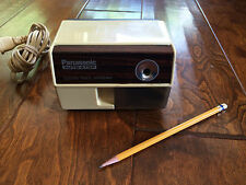 vintage PANASONIC auto-stop electric pencil sharpener, works well,drafting Table
