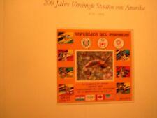 200 Jahre USA xx  1 Luxusblock PARAGUAY nummeriert Olympiade 1976 hochsprung