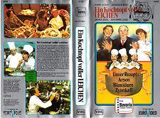 """VHS - """" Ein Casserole voller CADAVRE """" (1978) - George Segal - Jacqueline Bisset"""