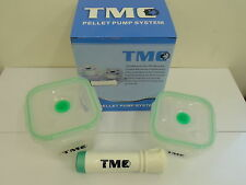TMC Pellet Pump system. 400ml & 700ml pots & Pump. Coarse / Match / Carp fishing