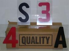 "4 Inch on 5"" Changeable Outdoor Sidewalk Sign Letters"