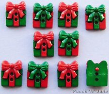SEW CUTE PRESENTS - Christmas Gift Box Bow Novelty Dress It Up Craft Buttons