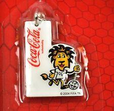 Coca-Cola Coke Catena chiave Portachiavi Anello COPPA DEL MONDO FIFA 2006 Leone
