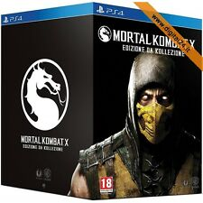 Mortal Kombat X (Kollector's Limited Edition) - PlayStation 4 [NUOVO - ITA]