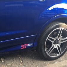 FORD ST LINE SIDE SKIRT STICKERS 2017 KUGA FOCUS FIESTA EDGE TRANSIT X2