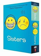 Smile and Sisters Set by Raina Telgemeier (2014, Mixed Media)