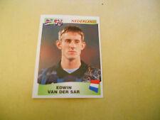 FIGURINE PANINI-EUROPA '96-NEDERLAND-EDWIN VAN DER SAR 77-N.-EURO 1996-ENGLAND