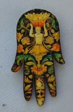 Bacchus Roman God of Wine Hand Brooch or Scarf Pin new fashion Wood Multi-Color