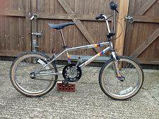 1984 Raleigh pro race  - OLD SCHOOL BMX - RALEIGH BURNER - Raleigh aero pro