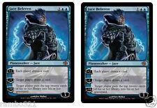 Jace Beleren FOIL x2 (two)+ 20 Random Rares Planeswalker Gift Set  XMAS Gift
