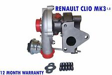 TURBO CHARGER TURBOCHARGER KP35 RENAULT CLIO MK3 MK III HATCHBACK 2010 - 2015