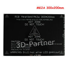 300*200*3.0 PCB MK2A RAMPS 1.4 Heatbed for Mendel 3D printer hotbed