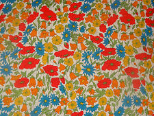 "LIBERTY ARTS FABRIC ""POPPY & DAISY M"" 50x136cm cotton tana lawn remnant"