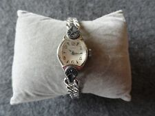 Vintage Wind Up Benrus Ladies Watch - Stretch Band