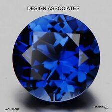 Beautiful Blue Tanzanite AAA 6 MM Stunning Round Cut Loose Gemstone