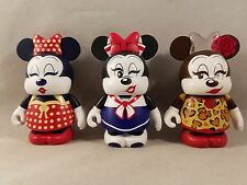 Disney Vinylmation Minnie Mouse Eachez Common and Variant 3 Figure Set