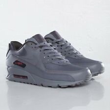 AIR MAX 1 BW 90 STASH IRON CHARCOAL GREY /  RED sz 11 BRAND NEW RARE RELEASE!!